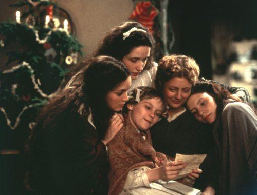 Un lieto Natale dal libro Piccole donne di Luisa May Alcott