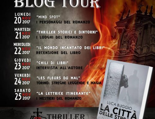 Blog tour La città delle streghe di Luca Buggio