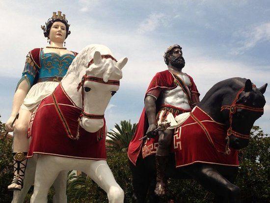 I Giganti Mata e Grifone, una storia d'amore tra leggende e tradizioni popolari.