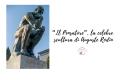 """""""Il Pensatore"""", la celebre scultura di Auguste Rodin"""