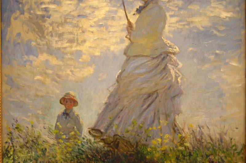 """""""La Passeggiata"""", Claude Monet"""