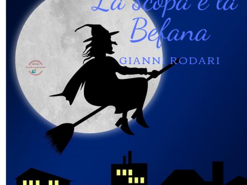 La scopa e la befana di Gianni Rodari
