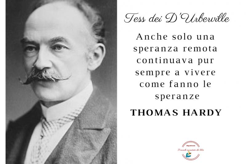 Thomas Hardy, uno dei maggiori poeti del XX secolo.