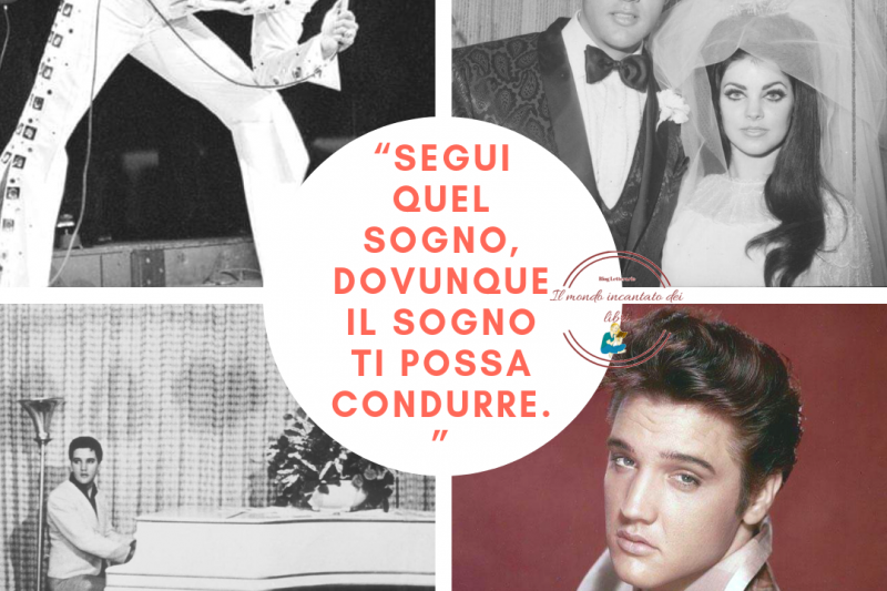 Elvis Presley, il Re del Rock and Roll .