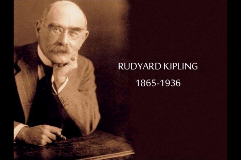 Rudyard Kipling, l'autore che continua a toccare nell'animo i lettori…