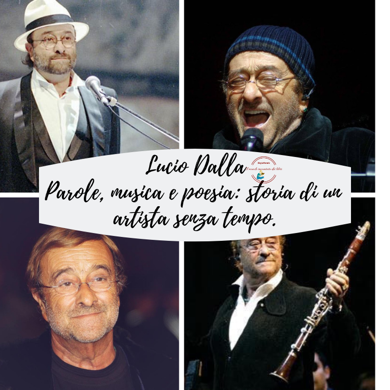 Lucio Dalla Parole, musica e poesia: storia di un artista senza tempo.