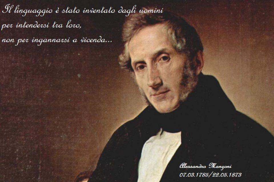 Alessandro Manzoni, il caposcuola del romanticismo italiano...