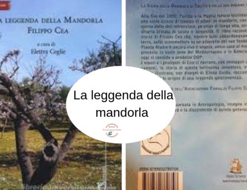"""Presentazione evento """" La leggenda della mandorla Filippo Cea """" a  cura di Elettra Ceglie"""