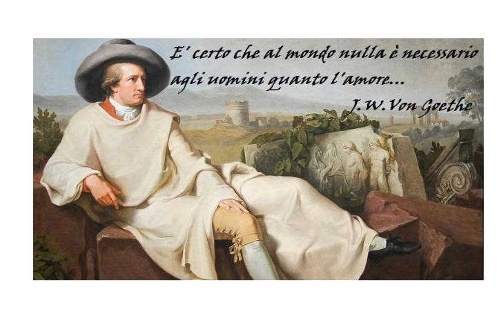 Goethe, l'ideatore del concetto di Letteratura Mondiale…