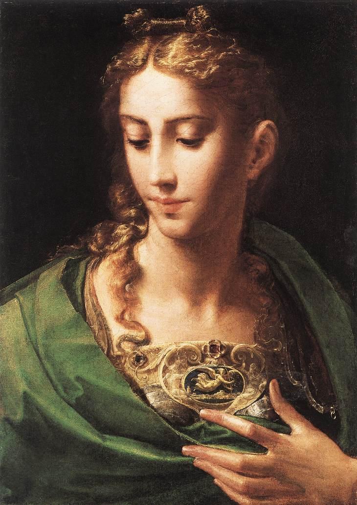 Minerva /Athena - Pallade Olio su tela