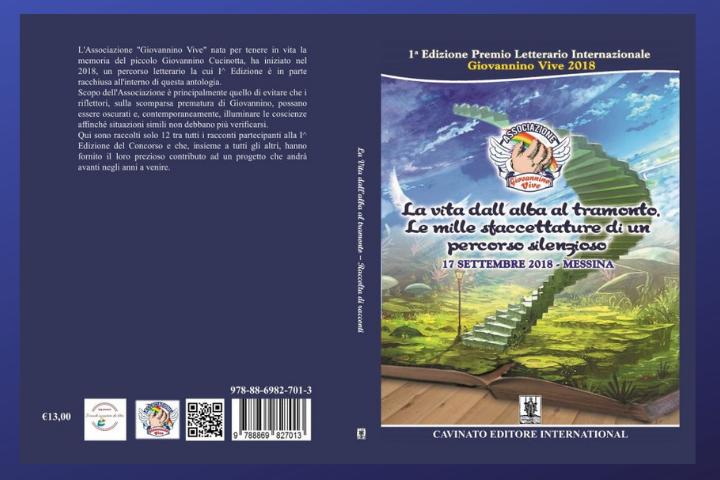 """La Vita dall'alba al tramonto. Le mille sfaccettature di un percorso silenzioso"""",  Antologia-  Autori Vari"""