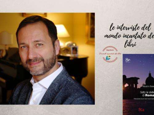 Il mondo incantato dei libri incontra Massimo Benenato