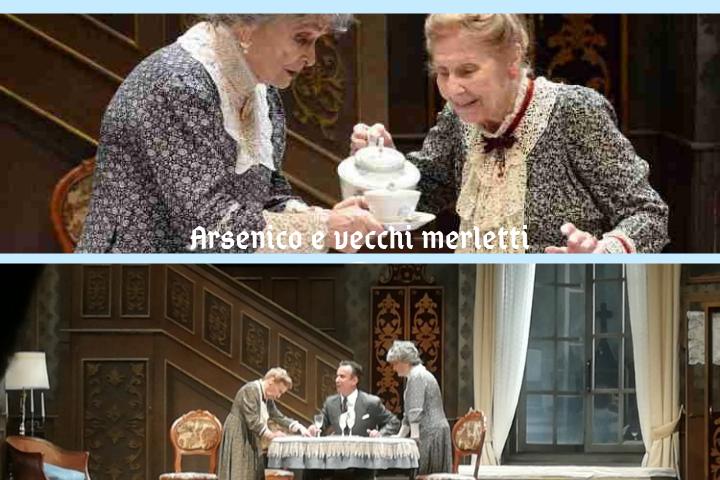 """""""Arsenico e vecchi merletti"""" Al Teatro Mercadante di Napoli"""