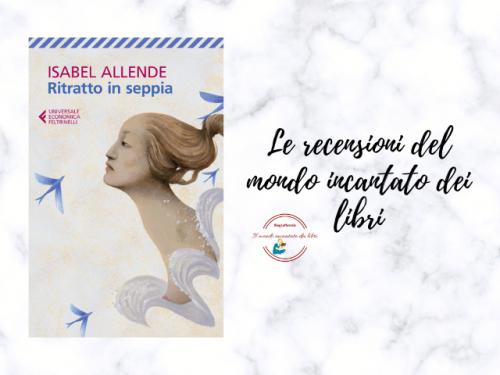 Ritratto in seppia di Isabel Allende