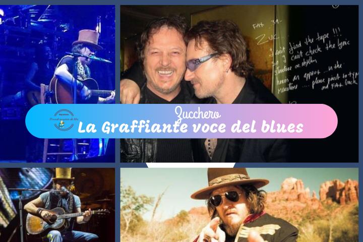 Zucchero la graffiante voce del blues italiano
