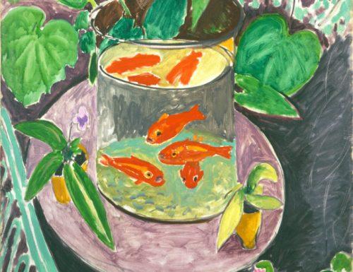 """""""I pesci rossi"""" di Henri Matisse"""