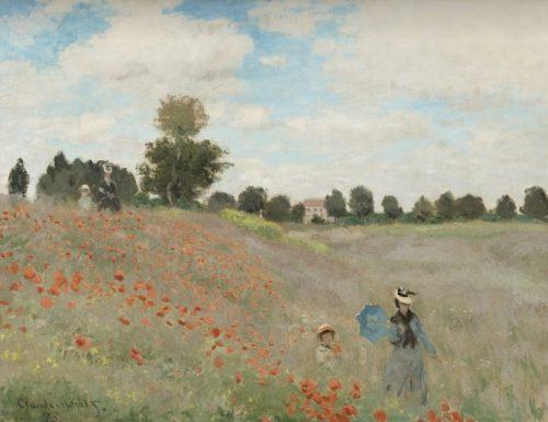 """""""Campo di Papaveri"""", di Claude Monet"""