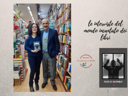"""Giovanni Canestrelli ci parla del suo libro """" Pezzi di ricambio"""" , in questa piacevole intervista."""