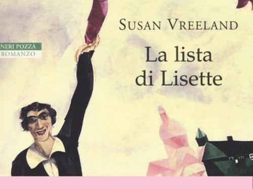 La lista di Lisette di Susan Vreeland la recensione
