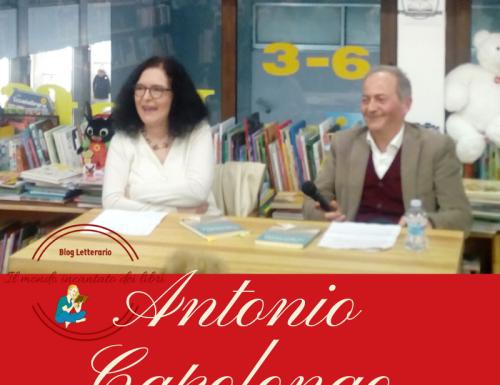 """Antonio Capolongo ci parla del suo libro """" Messaggio in bottiglia"""""""