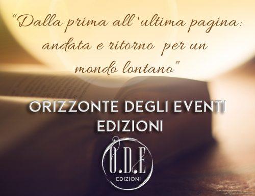 Presentiamo la nascita di una nuova casa editrice O.D.E. Edizioni