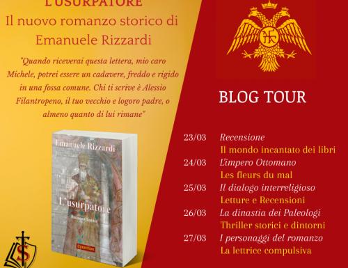Blog Tour – L'usurpatore di Emanuele Rizzardi