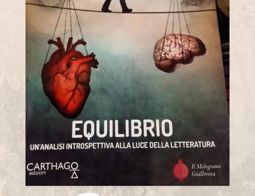Resoconto Presentazione del libro  Equilibrio di Annamaria Ragusa