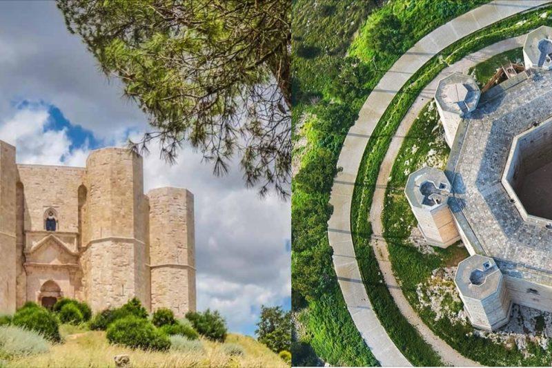 Castel Del Monte:  corona imperiale di pietra calcarea, fulcro di simboli,numeri e misteri esoterici.