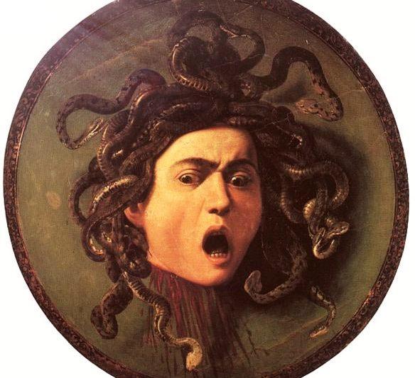 """""""MEDUSA:  Gorgone dai capelli di serpente e lo sguardo pietrificante"""""""
