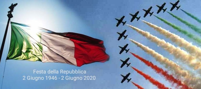 2 GIUGNO – FESTA DELLA REPUBBLICA: BUON COMPLEANNO ITALIA!