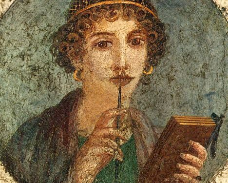 """""""Saffo, emblema di erotismo femminile""""."""