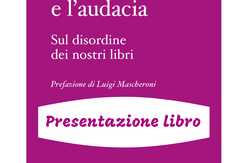 Sul disordine dei libri: L'INSOLENZA E L'AUDACIA di Massimo Gatta. In libreria il 26 giugno per Graphe.it