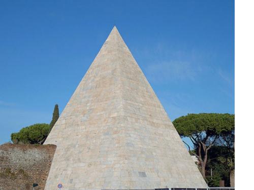 La piramide Cestia. Lo stile egiziano nel cuor di Roma