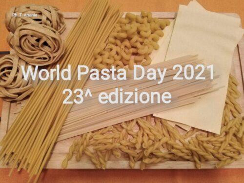 WORLD PASTA DAY – 23^ Edizione:  SUA MAESTA' LA PASTA